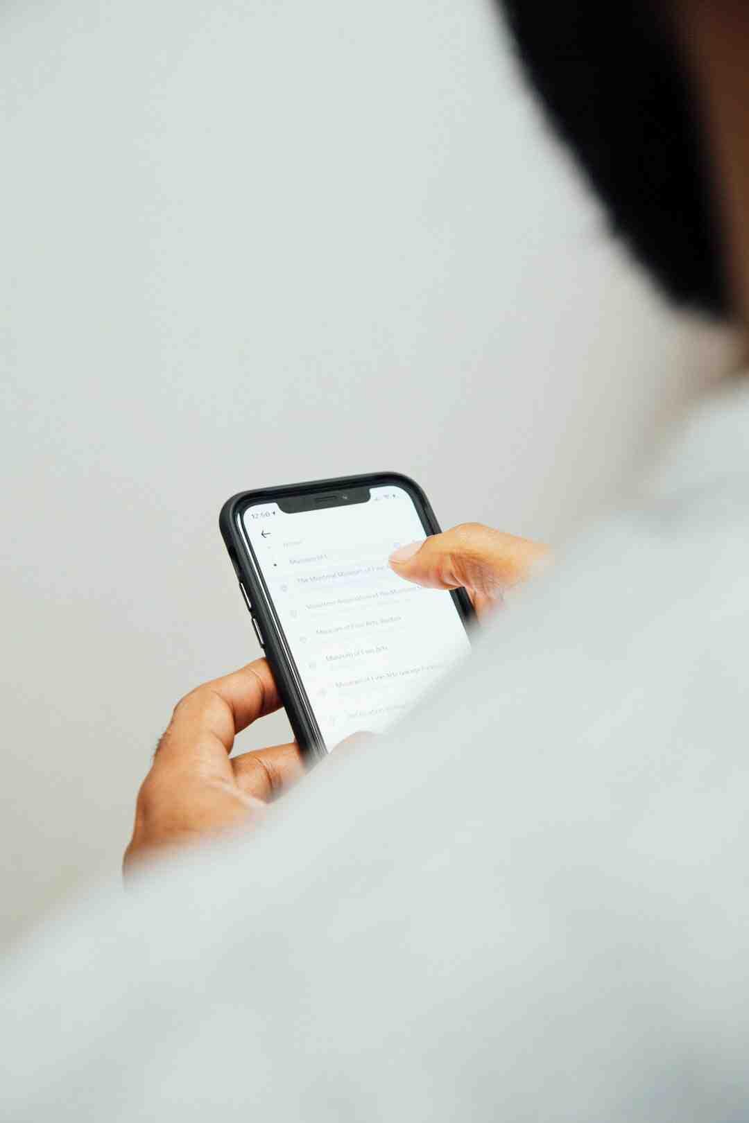Comment identifier un iPhone rénové